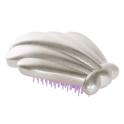 NEXT CHAPTER HOME DURAL + ONLINE | CLAMSHELL MERMAID BRUSH IN SILVER