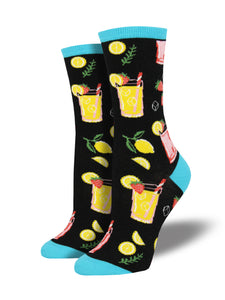 NEXT CHAPTER HOME DURAL + ONLINE | Womens Socks - Easy Peasy Lemon Squeezy