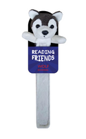 NEXT CHAPTER HOME ONLINE GIFTS - WOLF READING FRIENDS BOOKMARK