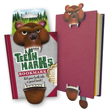 Load image into Gallery viewer, NEXT CHAPTER HOME DURAL + ONLINE | TEETH MARKS BOOK MARK - GRIZZLY BEAR