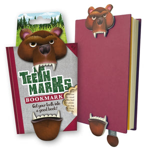 NEXT CHAPTER HOME DURAL + ONLINE | TEETH MARKS BOOK MARK - GRIZZLY BEAR