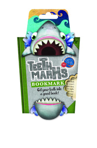 NEXT CHAPTER HOME DURAL + ONLINE | TEETH MARKS BOOK MARK - SHARK