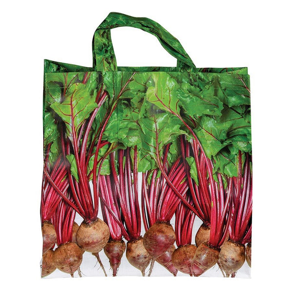 NEXT CHAPTER HOME DURAL + ONLINE |  Veggie Shopper Bag in Beetroot by IS GIFT