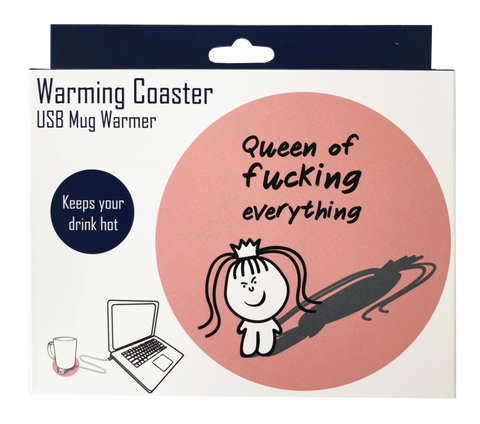 Warming Coaster - Queen of Everything