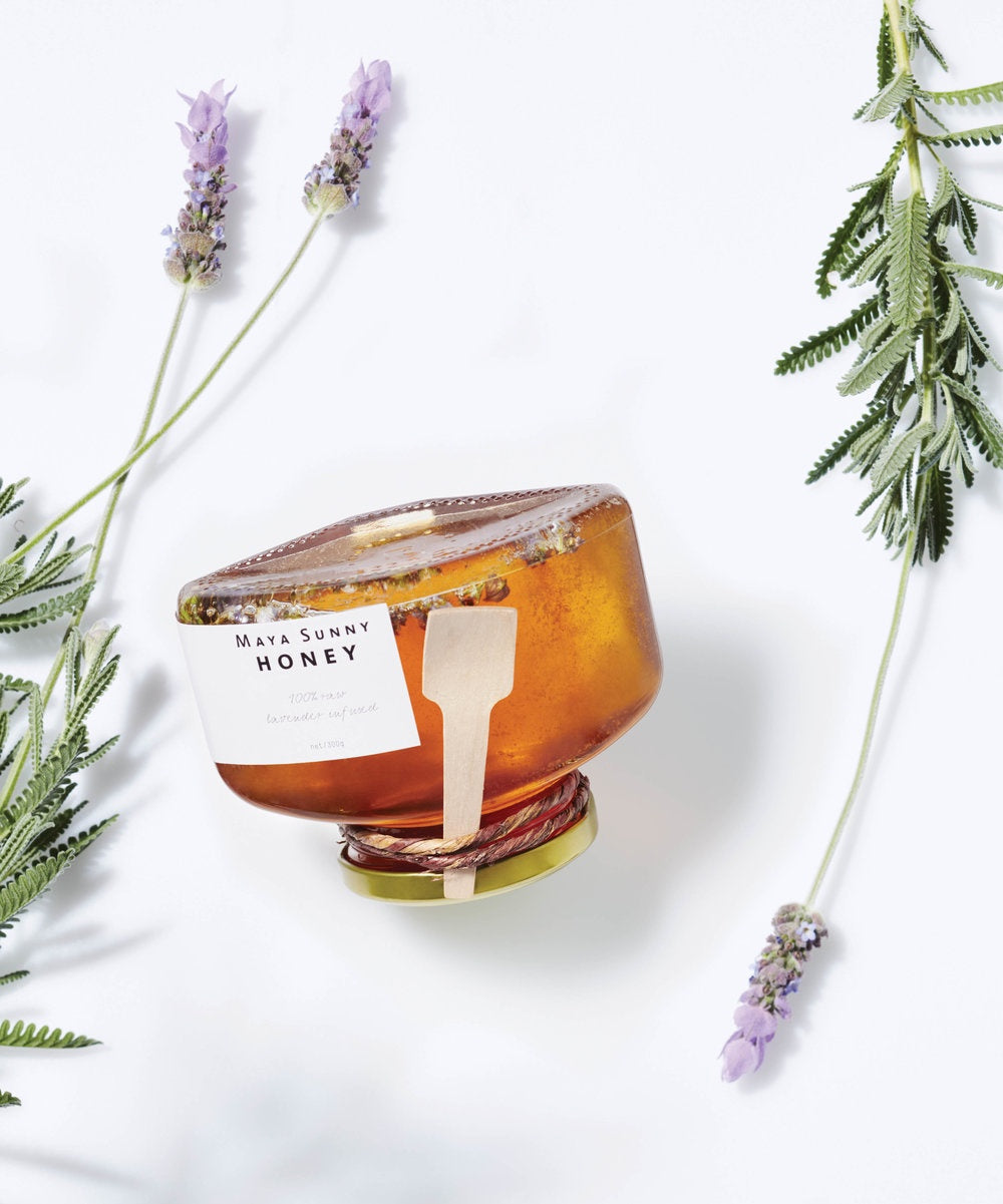 NEXT CHAPTER HOME DURAL + ONLINE | RAW LAVENDER HONEY BY MAYA SUNNY HONEY