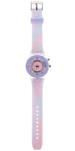NEXT CHAPTER HOME DURAL + ONLINE | TIME TO SHINE FLASHING WATCH IN PASTEL PURPLE