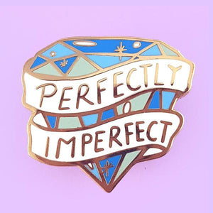Perfectly Imperfect Lapel Pin by Jubly-Umph