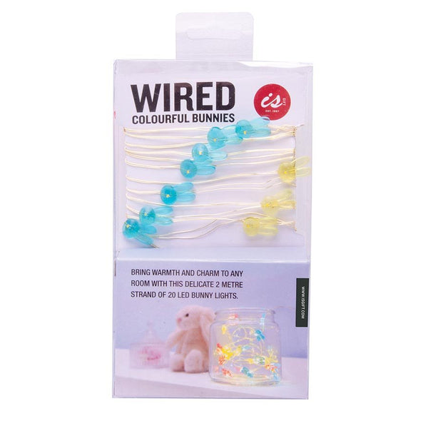 Colouful Bunnies Wired Led Lights