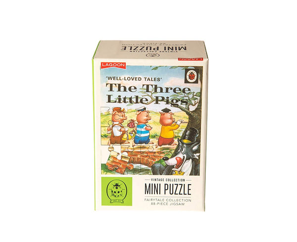 NEXT CHAPTER HOME DURAL + ONLINE | Ladybird Collection Mini Puzzles - The Three Little Pigs
