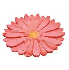 Daisy Coaster in Pink