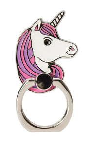 Unicorn Enamel Phone Ring Holder
