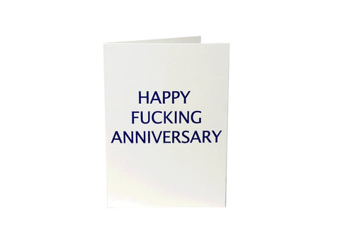 Rude Cards - Happy Fucking Anniversary