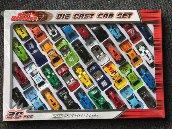 Die Cast Cars by Kandytoys - 36pk