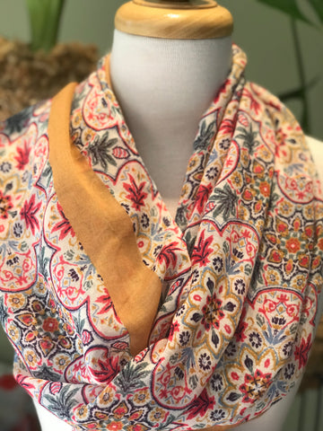 Country Flowers Scarf