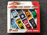 NEXT CHAPTER HOME DURAL + ONLINE | Die Cast Cars by Kandytoys - Light Blue Set