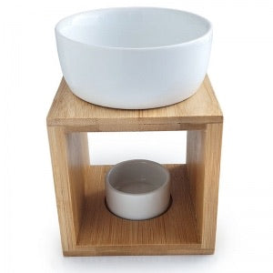 Bamboo Oil Burner by Buckley & Phillips
