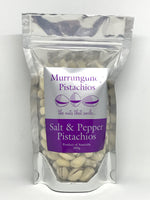 Salt + Pepper Pistachios