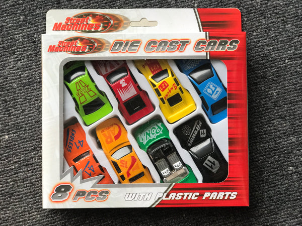 NEXT CHAPTER HOME DURAL + ONLINE | Die Cast Cars by Kandytoys - Orange Set