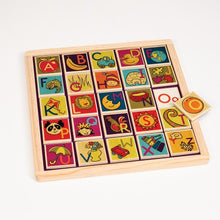 Load image into Gallery viewer, B. Toys | Magnetic Alphabet Puzzle