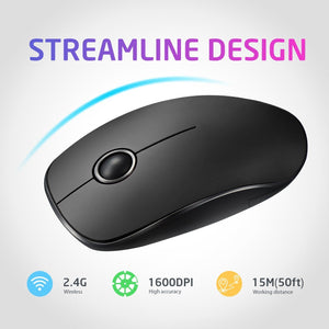 VicTsing 2.4G Slim Wireless Mouse - VicTsing