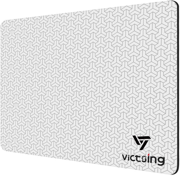 VictSing 3D Textured Plastic Surface Mouse Pad (10.2x8.3in)