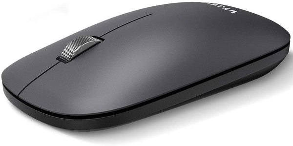 VictSing Wireless Mouse with Bluetooth  Metal Gray