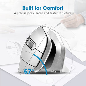 VictSing Wireless Ergonomic Vertical Mouse