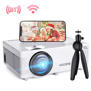VictSing WiFi Projector 4200 Lux