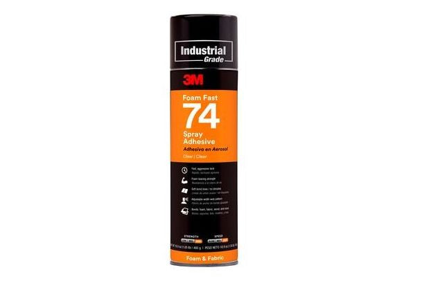 3M 74 Foam Fast Spray Adhesive