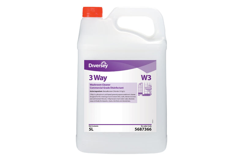 3 Way General Purpose Washroom Cleaner