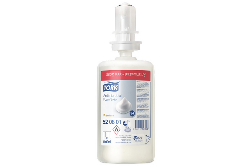 Tork Antimicrobial Foam Soap : S4