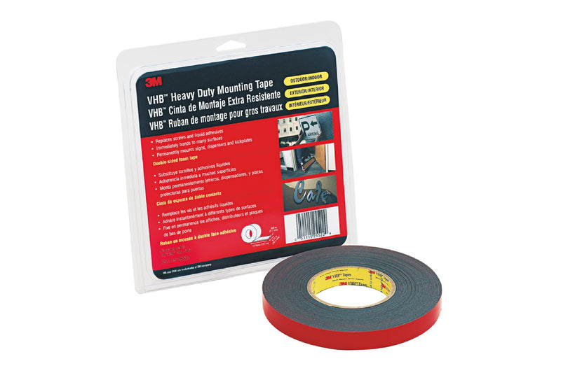 "3M 5952 VHB Double Sided Tape ""Retail Roll"""