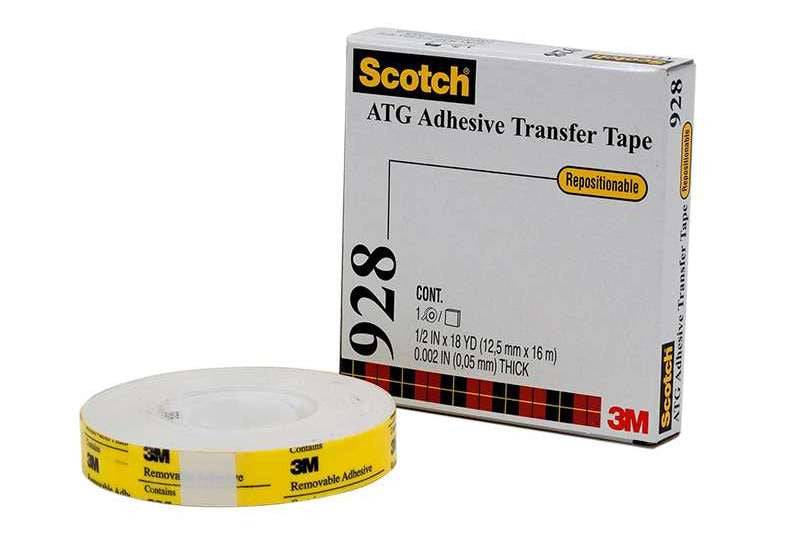 3M 928 Repositionable Adhesive Transfer Tape