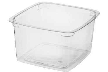 Square Portion Containers