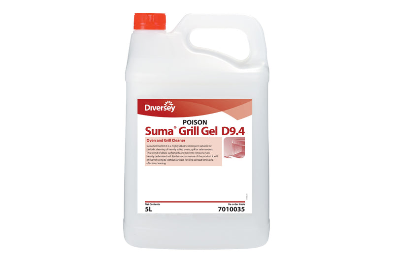 Suma Gel Oven & Grill Cleaner D9.4