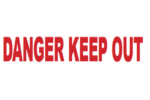 """Danger Keep Out"" Cordoning/Barrier Tape"