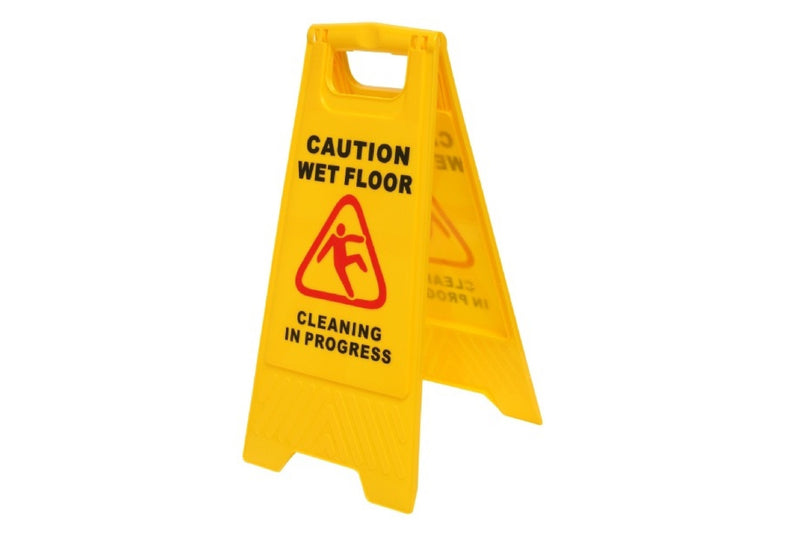 """Caution Wet Floor"" Sign"