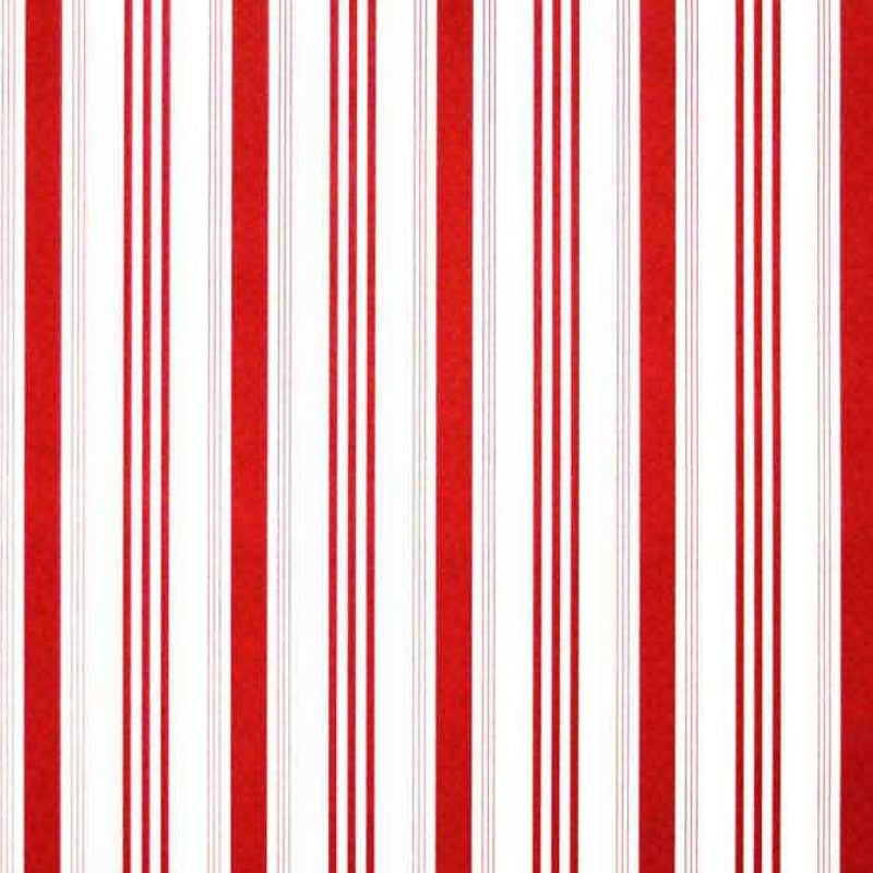 Stripe Red & White Club Roll