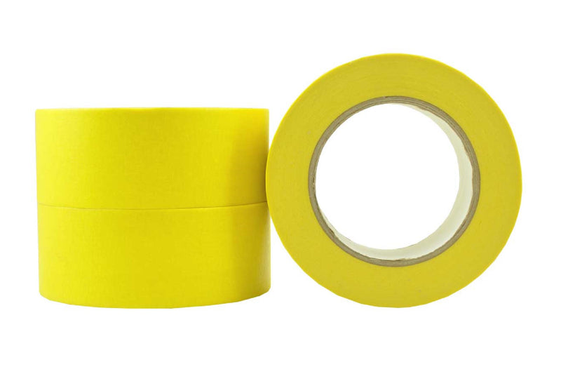 Automotive Masking Tape Yellow