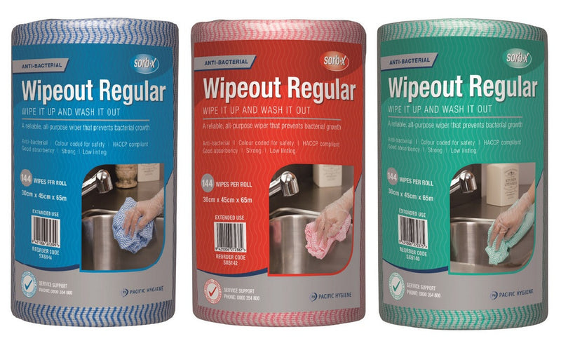 Wipeout Heavy Duty Wipes