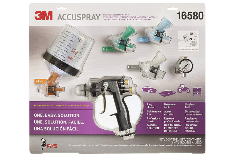 3M Accuspray One Spray Gun System 16580