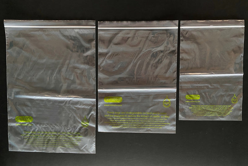 Biodegradable Resealable Bags