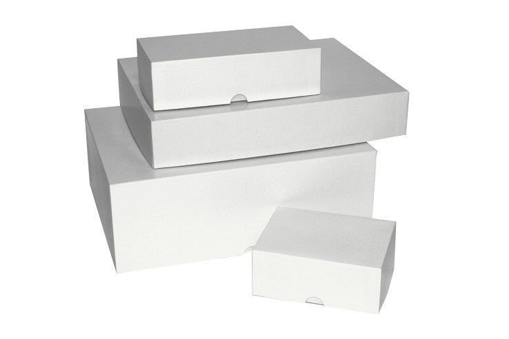 "Business Card Boxes ""White"""