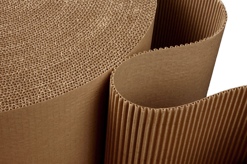 "Corrugated Cardboard ""Single Face"""
