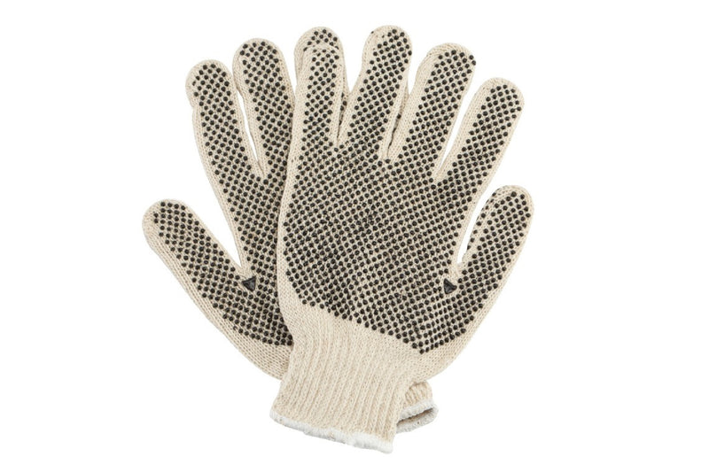 Cotton/PVC Dot Glove