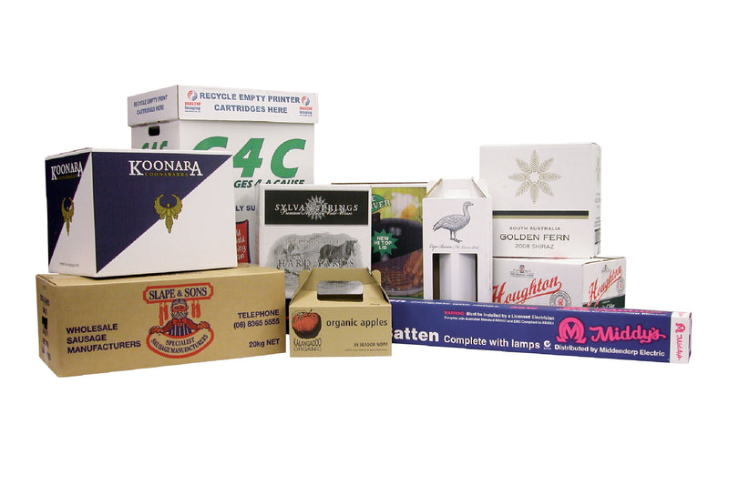 Custom Sized &/or Custom Printed Cartons