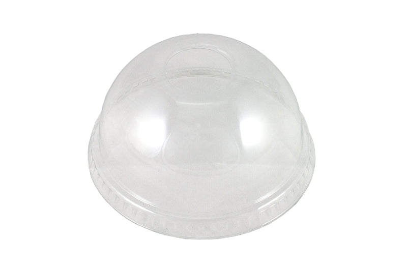 "Domed Lid With Hole To Fit 420ml Glass ""PET"""
