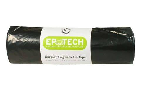 "Rubbish Bags Black ""Biodegradable"""