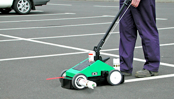 "Line Marking Trolley ""Rental"""