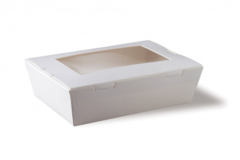 Lunch Box Small White Window